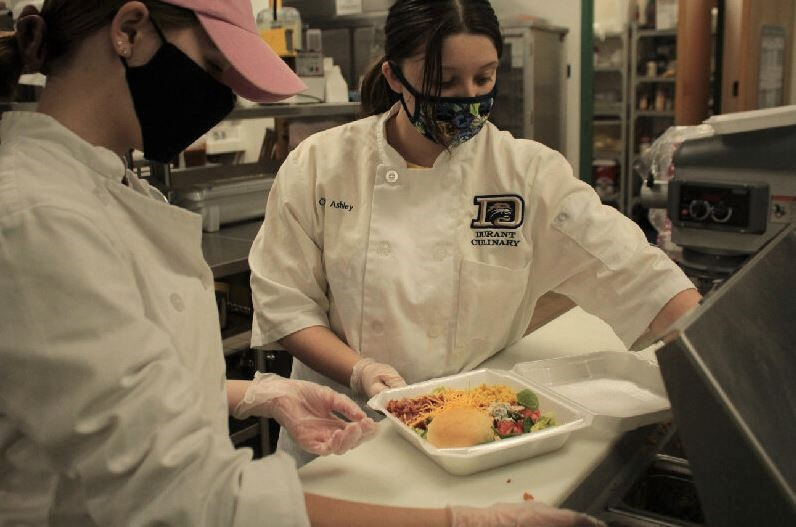 Chef Ashley Irovondo (11) is one of Ralph Underwood's newest students this year