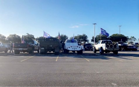 Durant students host truck rally in student parking lot