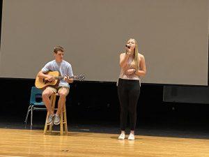 Ethan Cribbs and Kenzleigh Long sing My Testimony