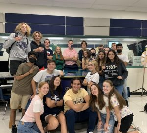 Mr. Varnums 2nd period TV Production Class.